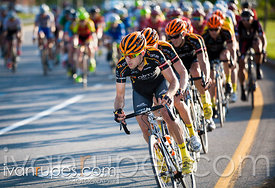Team Optum leads the chase at Grand Prix Cycliste de Saguenay, Stage 3, Saguenay, Qc,  June 7, 2014