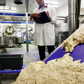 Berwick Upon Tweed, Northumberland. .23.8.12.The General Mills Jus-Rol factory, photographed on behalf of Findlay Media for the Best Factory Awards nominations 2012...Picture Copyright:.Iain McLean,.79 Earlspark Avenue,.Glasgow.G43 2HE.07901 604 365.photomclean@googlemail.com.www.iainmclean.com.All Rights Reserved.No Syndication