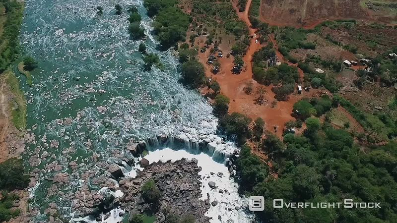 Fourteen Falls Kiliambogo Kiambu Kenya Drone Video