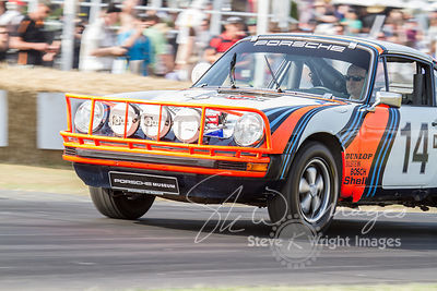 Porsche 911SC 'Safari' (3.0-litre flat-6, 1978), the 1978 Safari Rally contender - Goodwood Festival of Speed 2013