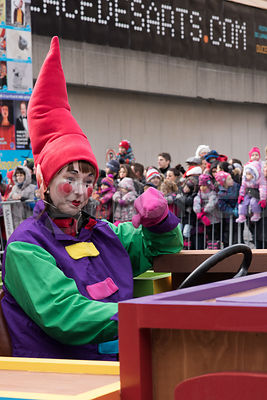 Celebration of Santa Parade In Montreal