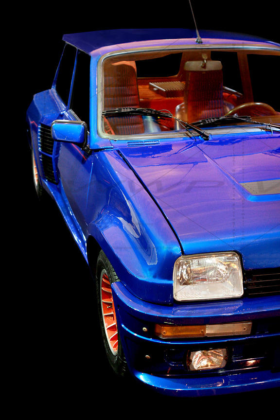 Renault 5 Turbo 2 Blue 1985