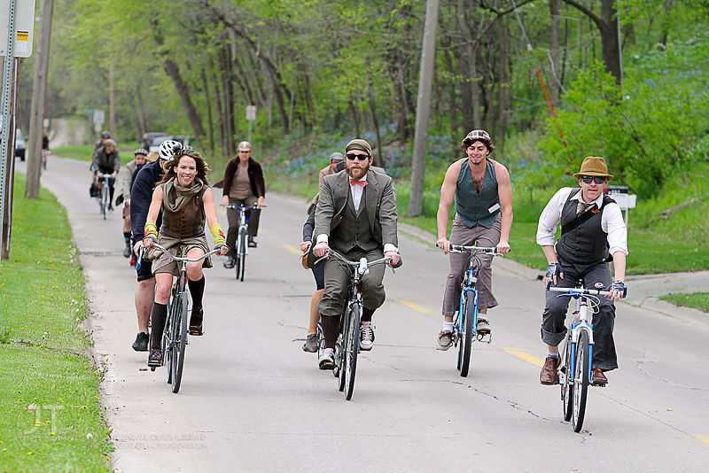 Tweed Ride, April 7th, 2012 photos