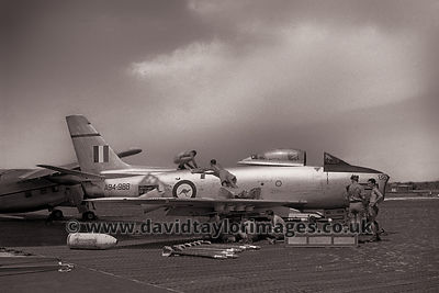 Armament display | RAAF Sabre A94-988 | RAF Changi September 1962