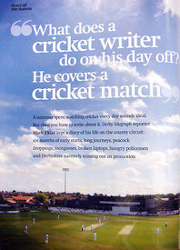 The Wisden Cricketer November 2009.2511931 – Steven Paston.