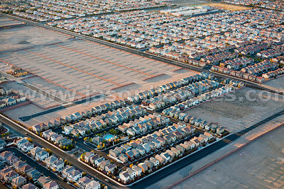 Housing development in Las Vegas.