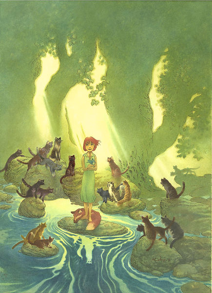 Charles Vess - Fantasy Artist and Illustrator photos