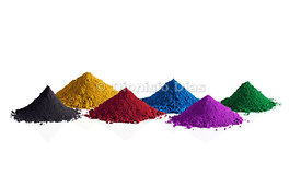 Colourful Pigments.