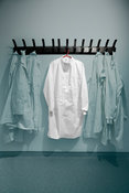 White lab coats