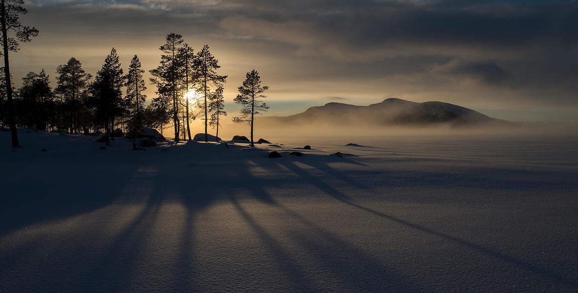 Vinter / Winter at Femunden, Norway