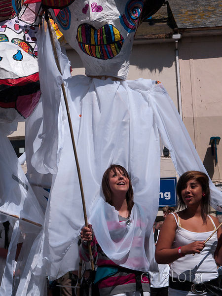 The Golowan Festival in Penzance