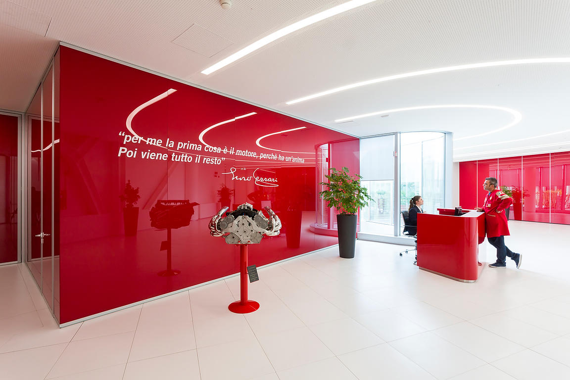 Ferrari GES reception