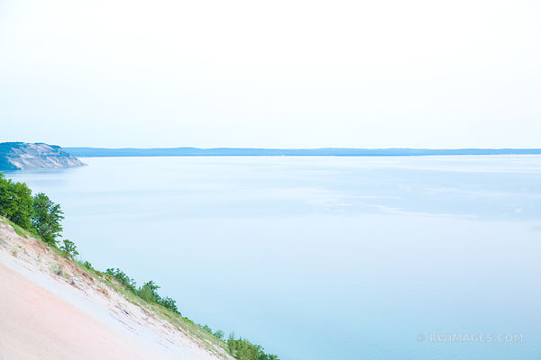 LAKE MICHIGAN SLEEPING BEAR DUNES MICHIGAN