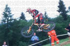 SHAUN PALMER NEVEGAL, ITALY. GRUNDIG DOWNHILL WORLD CUP 1997