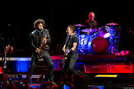 Bercy, Bruce Springsteen, Jake Clemons,River Tour