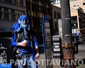 Painted Blue | Paul Ottaviano Photography