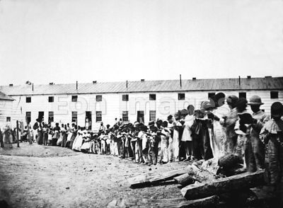 Contraband School in Arlington Virginia during Civil War