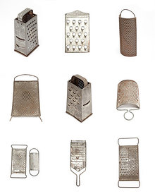 Cheese grater collection