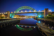 First Light on the Tyne