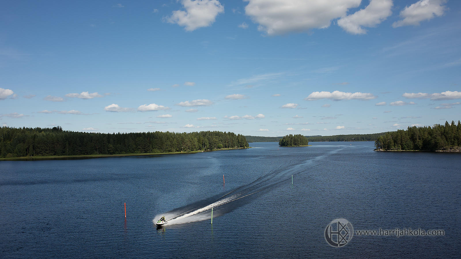 Finland - Jämsä (Fast on the Lake)
