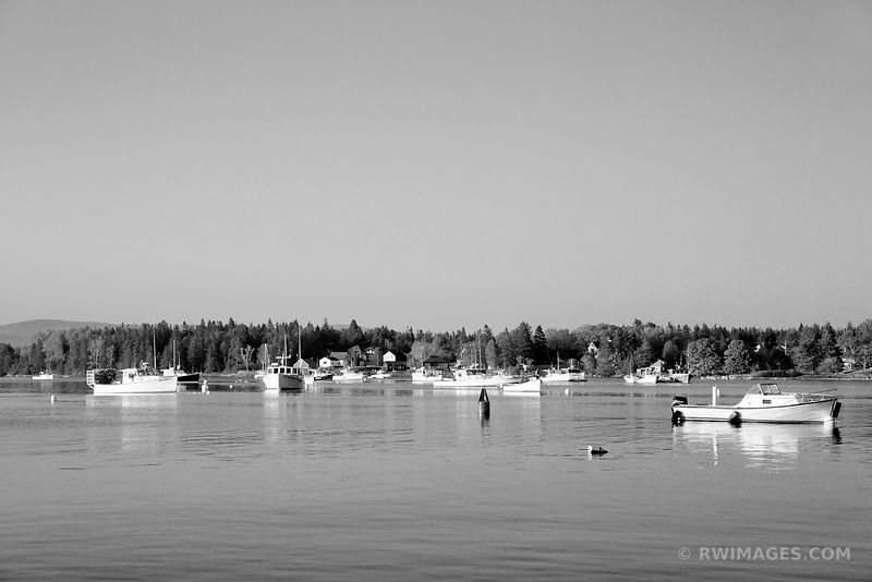 BERNARD HARBOR MAINE NEAR ACADIA NATIONAL PARK