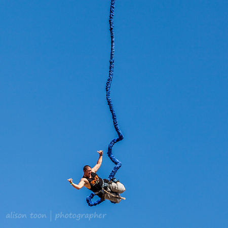 Bungee jumping photos