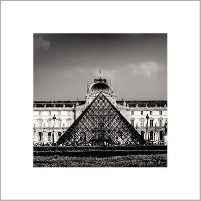 Louvre Pyramid - Paris (France)