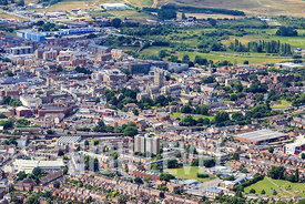 Aerial Photography Taken In and Around Gloucester-Westgate Street