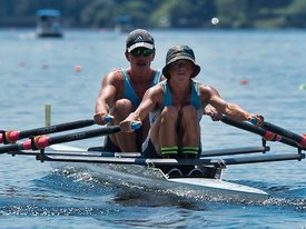 Taken during the Cambridge Town Cup and NI Championships 2018, Lake Karapiro, Cambridge, New Zealand; ©  Rob Bristow; Frame  - Taken on: Saturday - 27/01/2018-  at 13:53.04