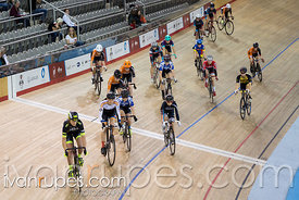 Cat 1 Women Points Race, 2016/2017 Track O-Cup #1, Mattamy National Cycling Centre, Milton, On, December 4, 2016