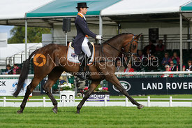 Chris Burton and HARUZAC - Burghley 2015