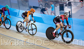 Cat 1 Women Points Race. Track O-Cup #2, Mattamy National Cycling Centre, Milton, On, January 15, 2017