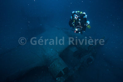 LE DORNIER 24 photos sous marines