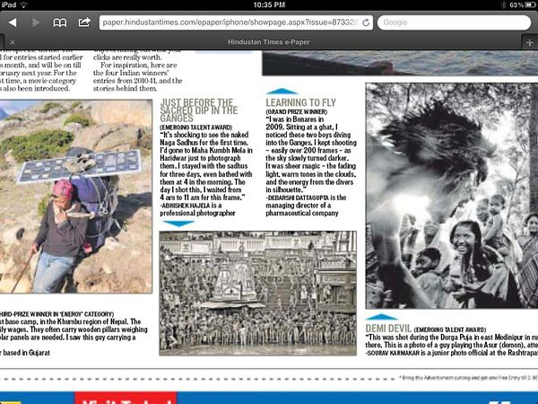 Hindustan_Times_Exhibition_Coverage; December 2012 photos