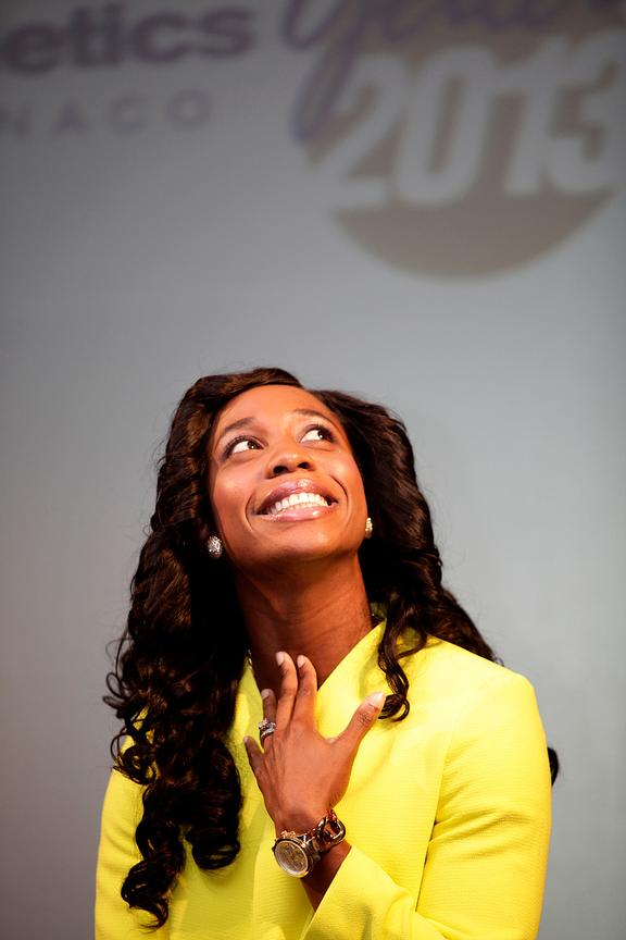 Fraser-Pryce Athlete of year 2013