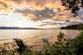 Flathead Lake Sunset 2