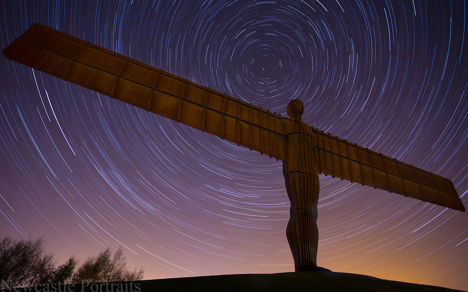 Angel of the North Star Trails