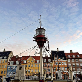 Nyhavn and the Light Vessel