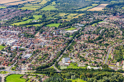 Newbury Canterbury Aerial Photographs
