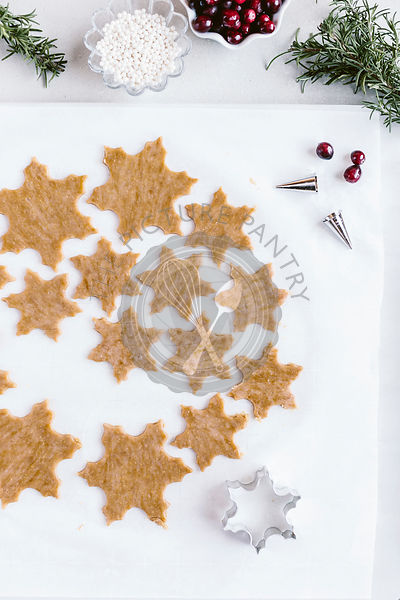 Snowflake Holiday Cookies