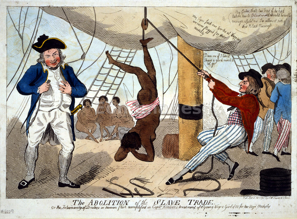 Abolition of the slave trade cartoon