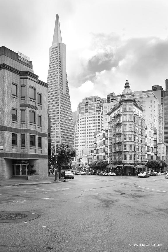 SAN FRANCISCO BLACK AND WHITE