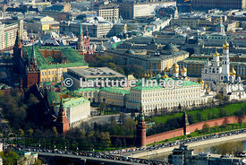 Russia, Moscow. Moscow Kremlin.