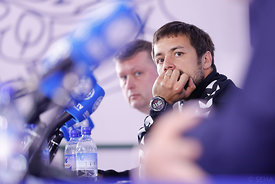 Zlatko Horvat during the Final Tournament - Final Four - SEHA - Gazprom league, Press conference in Brest, Belarus, 06.04.2017, Mandatory Credit ©SEHA/ Uros Hočevar