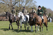 Royal Artillery Hunt, Everleigh House 28 March 2012