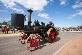 Buffalo Pittsburg steam traction engine