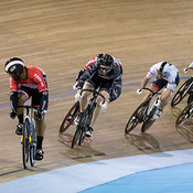 Men Keirin 1-6 Final. Ontario Track Championships, March 4, 2018