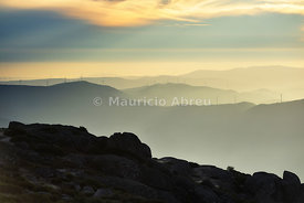 The top of the highest mountain range in Continental Portugal. Serra da Estrela Nature Park