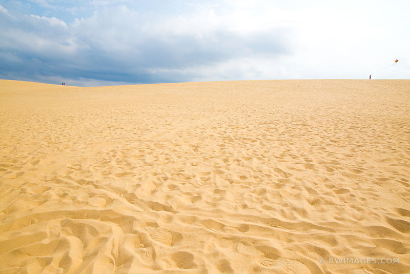 SAND DUNES IN JOCKEY'S RIDGE STATE PARK NAGS HEAD OUTER BANKS