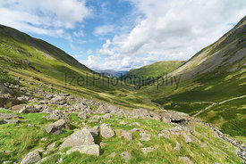 Pasture Beck near Hartsop in the Lake District, UK.